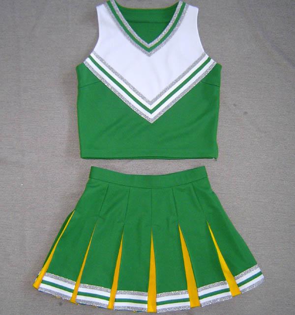 Cheerleading costumes pour pom-pom girl