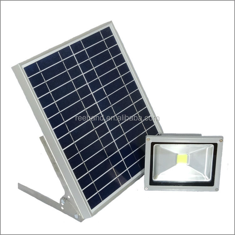 Wholesale 20V 60W Solar Panel Green Light Bulb Solar Led Light For Outdoor Tr