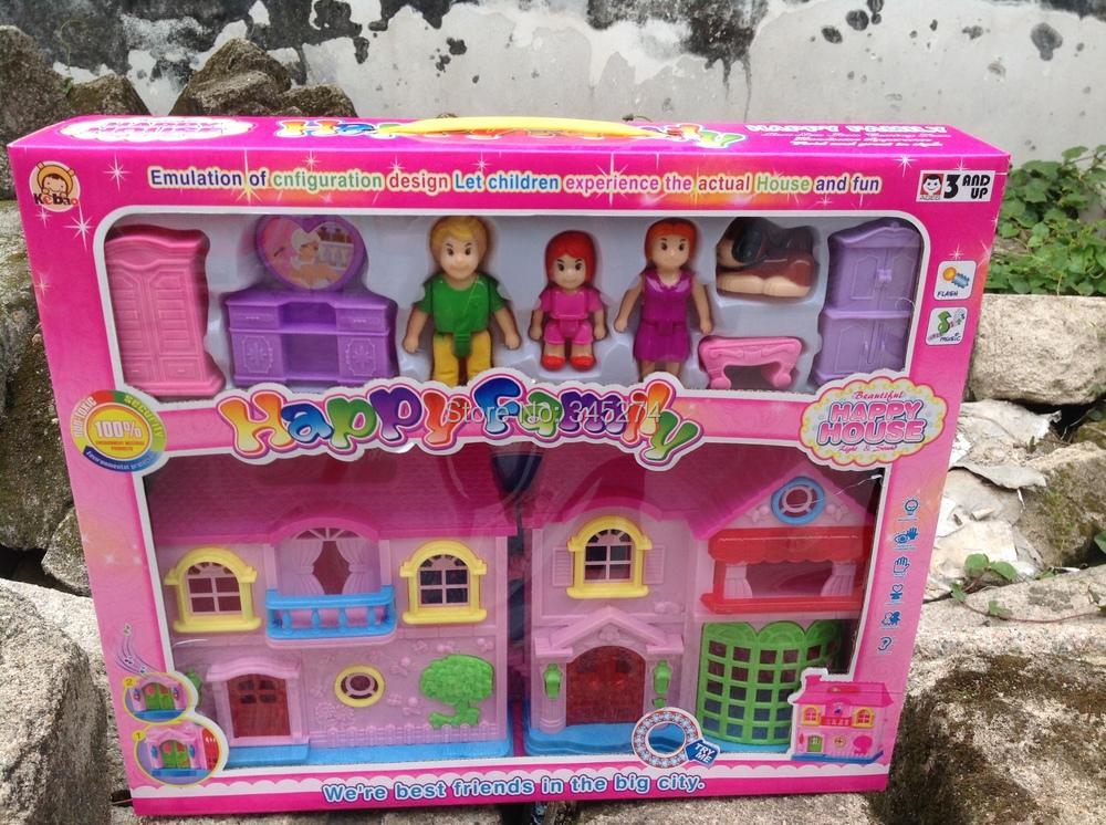 Кукольные домики из пластмассы