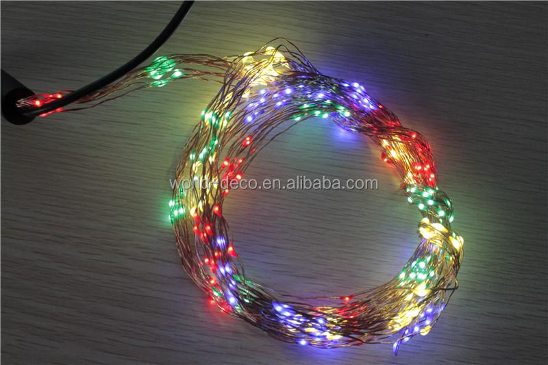 12v Copper Wire Led String Lights / Led 12v Christmas Tree String Light / Micro Led String Light ...