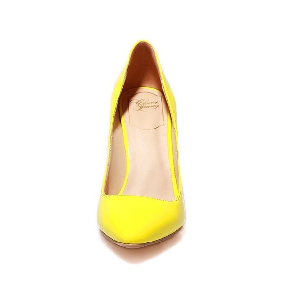 Туфли на высоком каблуке macaron toe SS