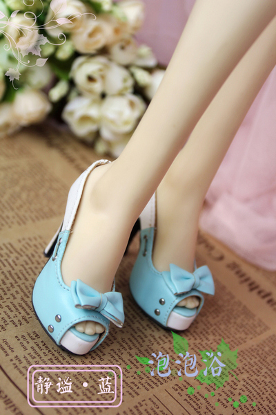 Bowknot Shoes Style Bowknot Doll Shoes