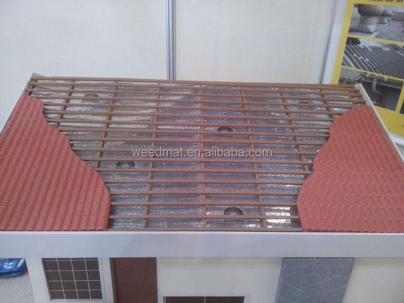Tile roof tile roof no sarking for Foundation blanket wrap insulation