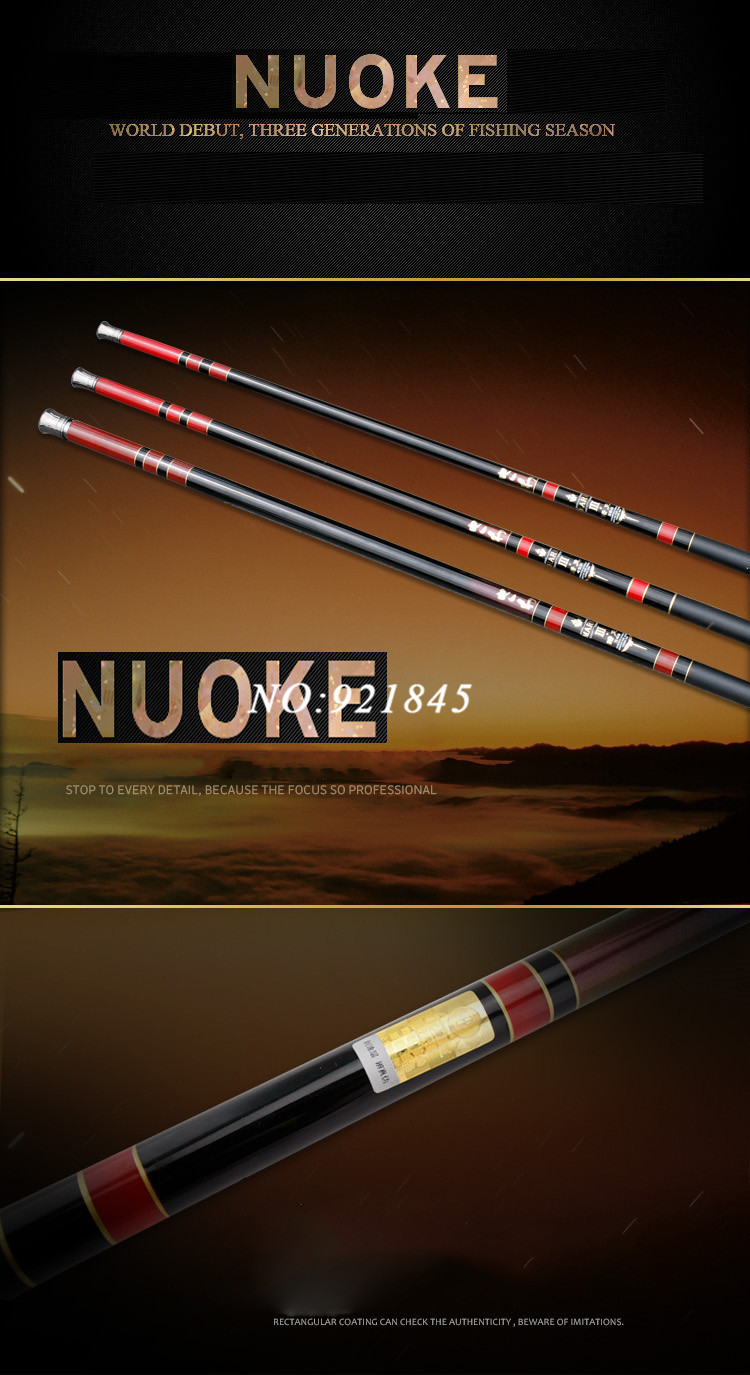 Удочка Li fishing 6.3m 12 STR-63