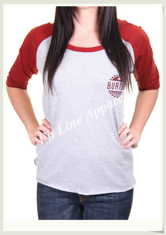 Cheap wholesale half sleeve women t shirts custom bicolor for Cheap bulk custom t shirts