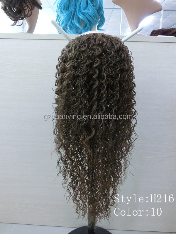 Afro Kinky Curly Half Wig Half Wig Clip In Hair Extensionskinky