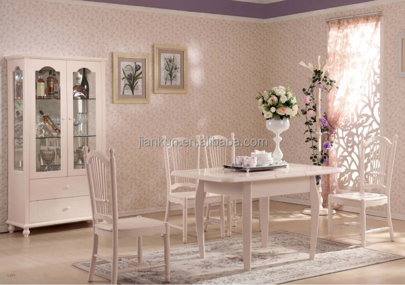 salle manger table romantique idyllique bas prix lots de salle manger id de produit. Black Bedroom Furniture Sets. Home Design Ideas
