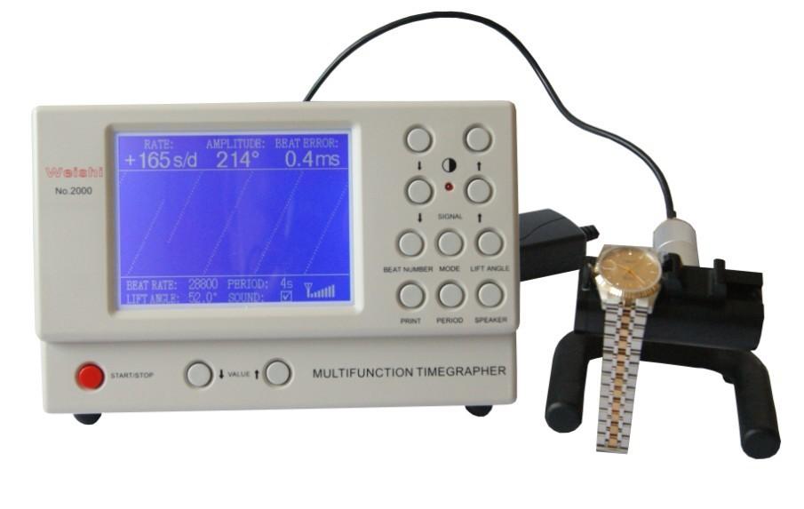 Английская Версия Часы Тестер Многофункциональный Timegrapher НЕТ. 2000 для rolex часы ремонтников смотреть любителей