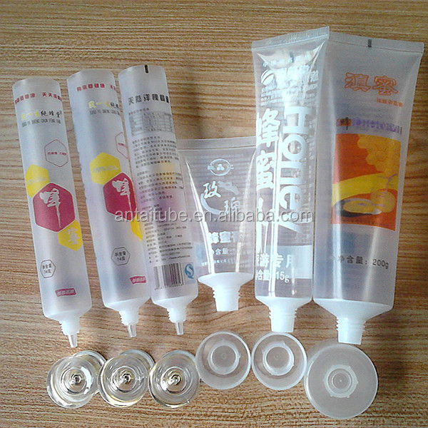 Plastic Tube Packaging For Food Clear Food Tube Packaging For