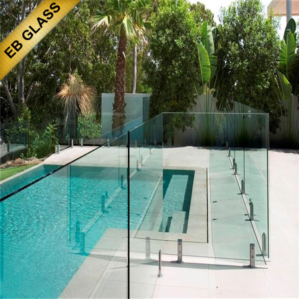 10mm 12mm Glass Wall Prices Tempered Glass Pool Fence