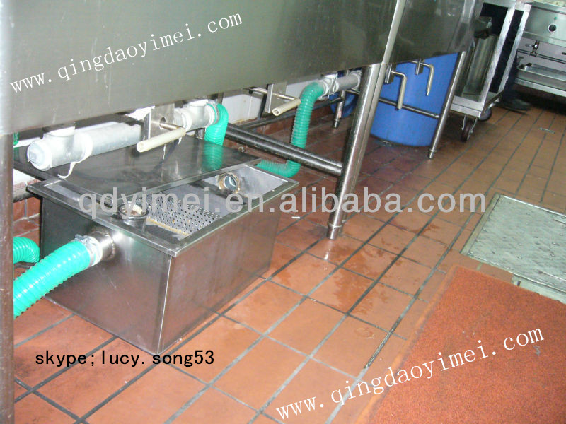 Hotel Grease Trap For Oil Interceptor - Buy Kitchen Grease Trap ...
