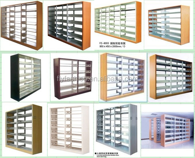 Modern Library Furniture Movable Mass Shelf Used Library Bookcases ...