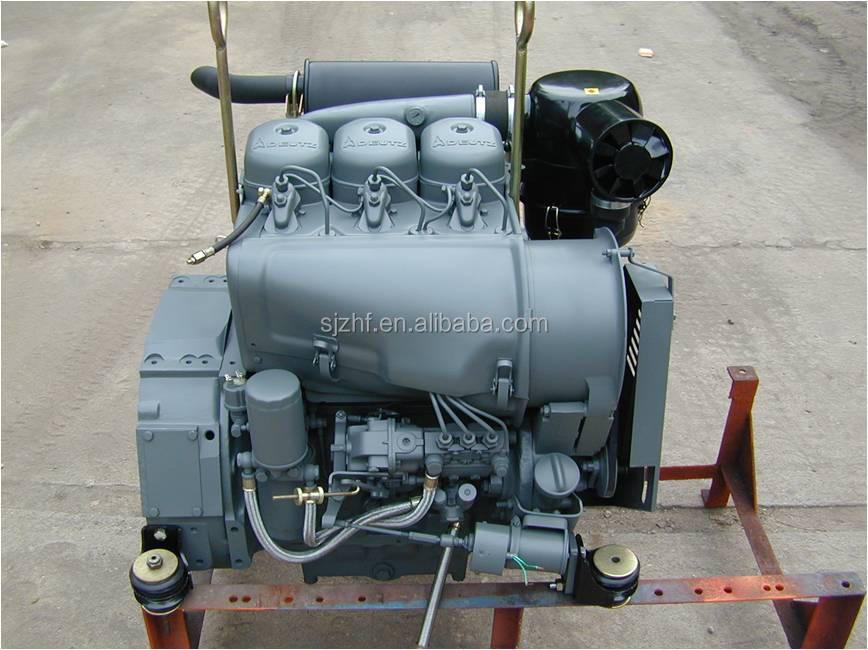 Deutz f3l912 air cooled 4 stroke 3 cylinder deutz diesel for Motor oil fire starter