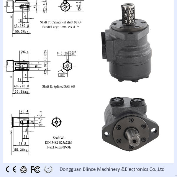 780rpm Hydraulic Motors Hydraulic Motors From Dongguan Blince Machinery Electronics Co Ltd