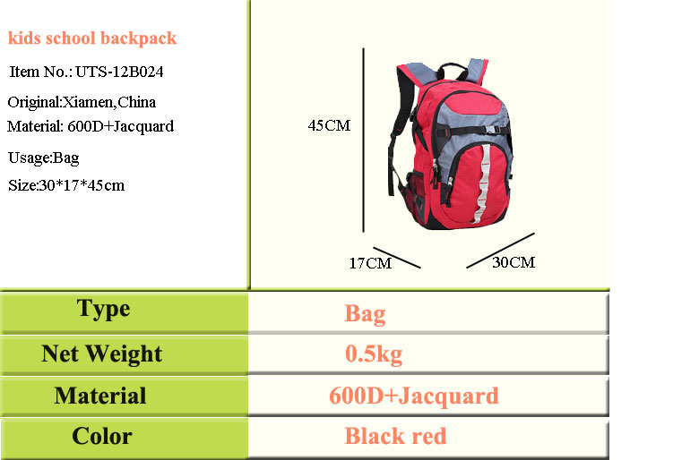 custom bright color life kids school backpack