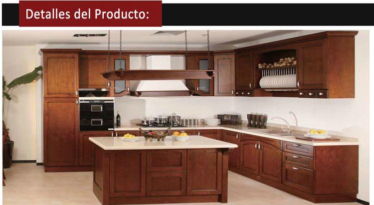 Muebles para tv en madera americanos for Modelos de puertas de madera para cocina integral