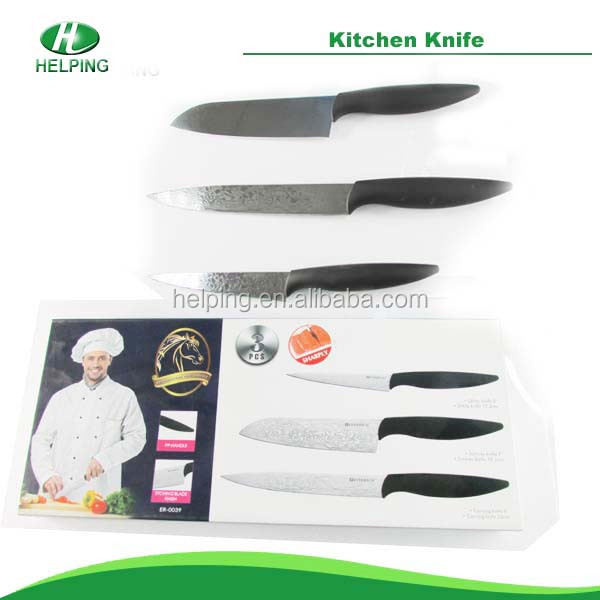 High quality non-stick knife kitchen knife color knife set kitchenware