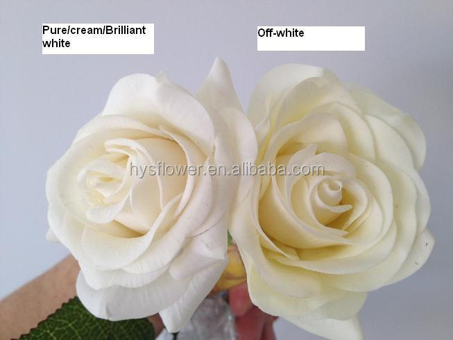 Real touch artificial red rose flower wedding flower view red rose jpg 1 two white colors mightylinksfo