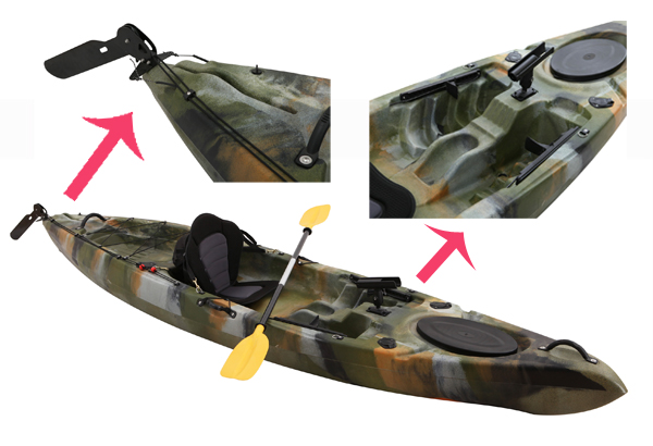 Fishing kayak with pedals images for Fishing kayak with foot pedals