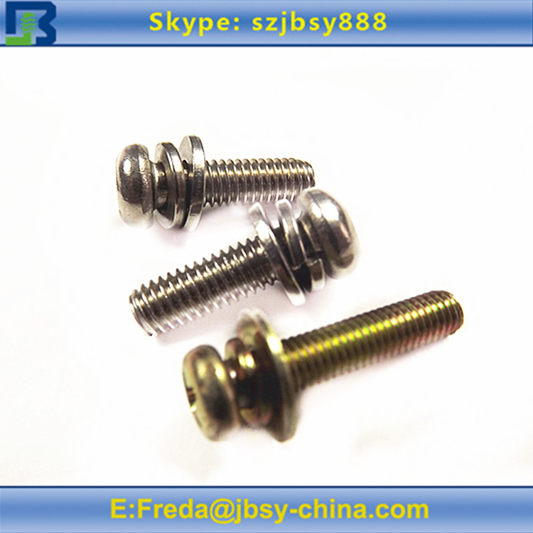Pan Washer Screw Screw With Washer Attached