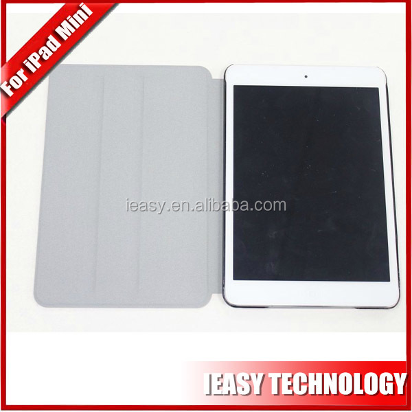 tablet case stand leather case for ipad mini 2 cheap custom smart cover with sleep awake function tablet case