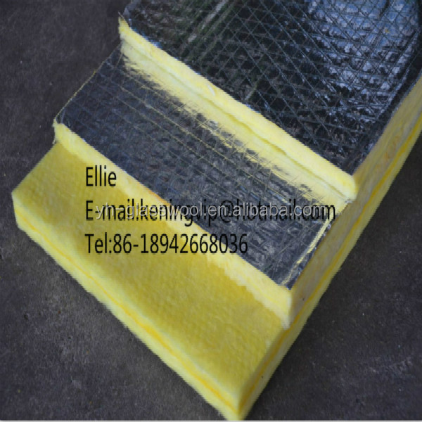 Glass wool blanket fiberglass wool roll glasswool roof for Fiberglass wool insulation