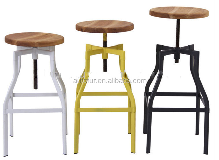 Supply Cheap Gunmetal Used Commercial Bar Stools Furniture