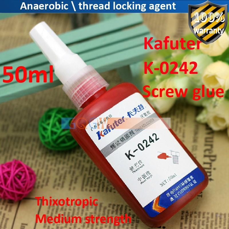 2шт/лот анаэробных \ поток блокировки агент \ винт клей \ kafuter k-0242
