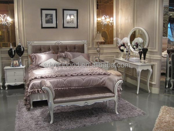 YB06 Italian New Model Solid Wood Classic Bedroom
