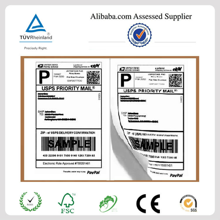 Amazing Shipping Label Adornment Administrative Officer Cover - Custom shipping label template