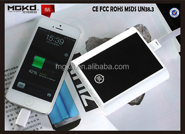made in china smartphone power bank 10000mah portable mobile power bank