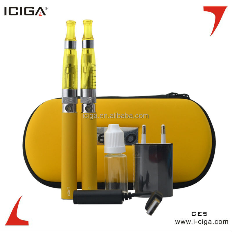 ICIGA ce5- Electronic cigarette ego ce5/ce4 Blister, zipper kit, gift box offer Real HGB battery high quality yocan expure