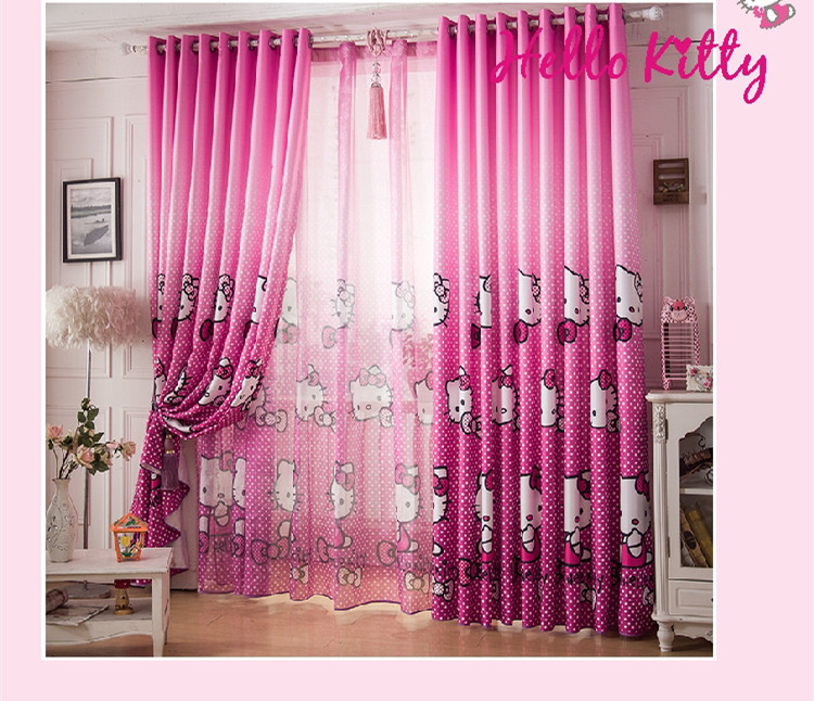 Captivant Source D Inspiration Pour Hello Kitty Rideau Chambre : Kitty Bande .