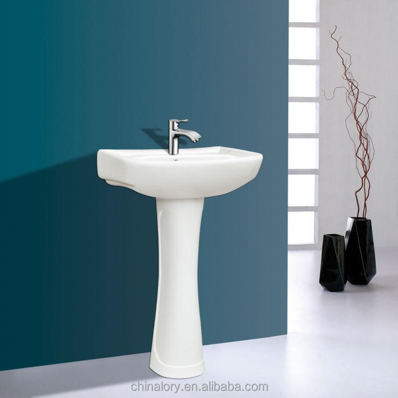 Luxury Ceramic One Piece Pedestal Wash Basin Prices, View Wash Basin ...