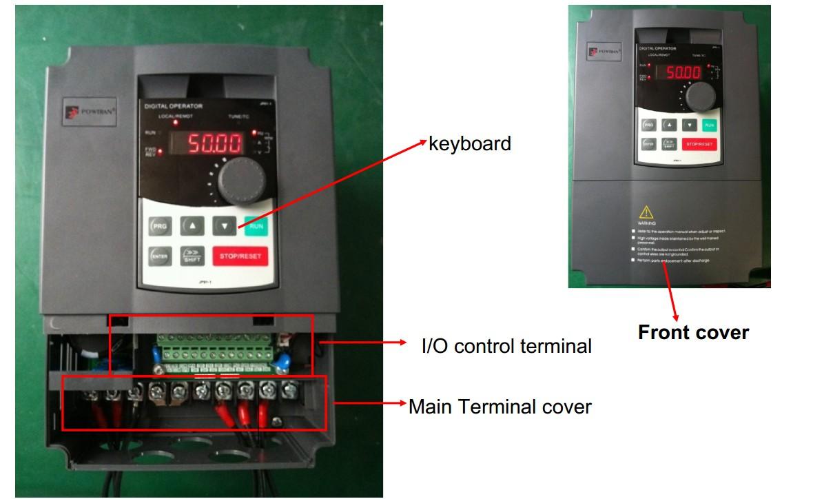 Pi9000 Series Inverter Manufacturers Profibus Modbus Rs485