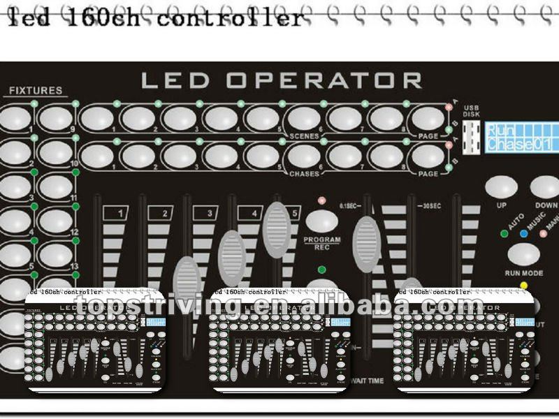 LED 160CH Controller midi controller for stage lighting