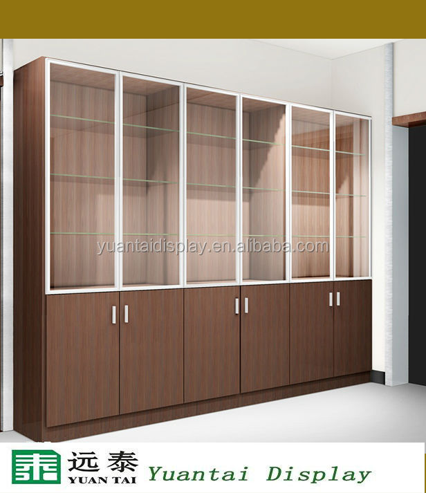 Top Cosmetic Display Design Showcase Wall Cabinet Retail