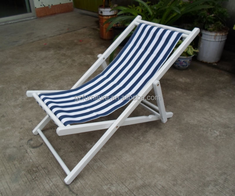 Patio sling chairs - Chairs Folding Chairs Folding Wooden Beach Chair Canvas Product On