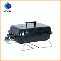 Round stainless steel professional gas grill barbecue burner