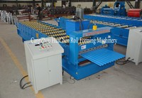 China New Design Product Export South Africa Market HC17 Corrugated Iron Panel Roll Forming Machine Made in China
