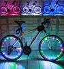 Super Bright Bicycle Accessories Programmable LED For Wheel