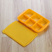 High quality best price silicone ice cube tray with lid