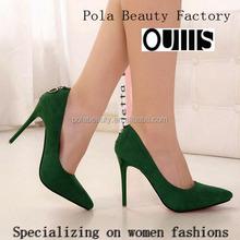 2016 upscale plastic pvc women high heel dress shoes PE3429