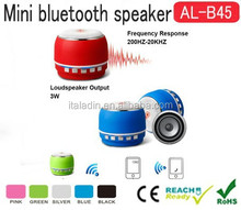 Portable round Wireless Bluetooth Speakers with microphone Super Bass Hifi Stereo Loud speakers car audio