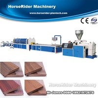 Most Professional Wood polymer composite Outer decks machinery