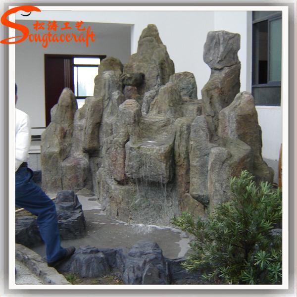 china hoge kwaliteit grote nep stenen tuin fonteinen marmeren steen voor tuin landschap rotstuin