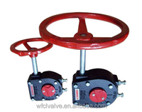 good qulity butterfly valve gearbox with nice price