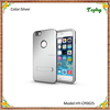 3 in 1 Silver Strong Box TPU + PC Hybrid Combo Cover For iphone 6 Plus Stand Case