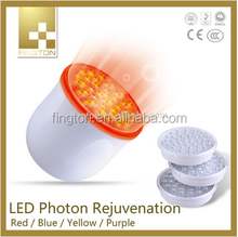 Anti-Aging Phototherapy Red & Blue&Yellow&Purple LED Light Therapy for use at home