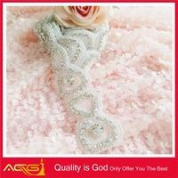 ACG new Handmade of Wedding Sash crystal grandmas gift